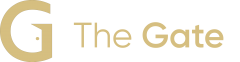 The Gate Logo Horizontal